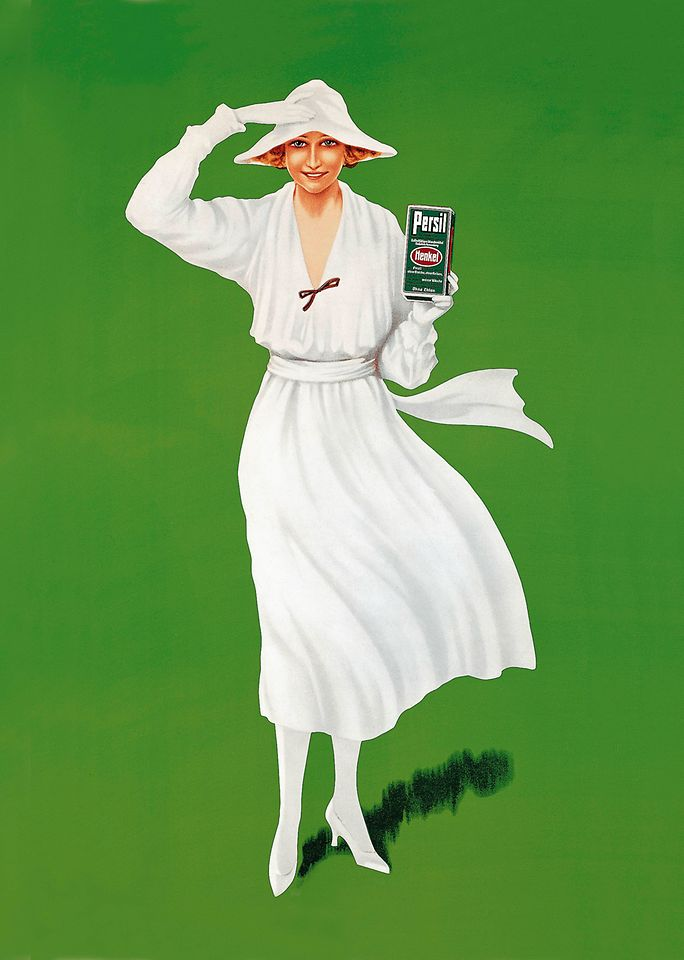 "First Persil advertising with the ""White Lady"""